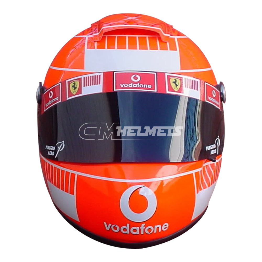 MICHAEL SCHUMACHER 2005 USA GP F1 REPLICA HELMET FULL SIZE ...
