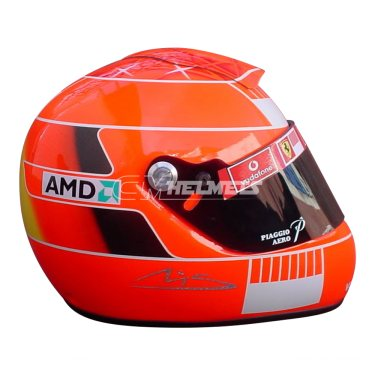 MICHAEL SCHUMACHER 2005 USA GP  F1 REPLICA HELMET FULL SIZE