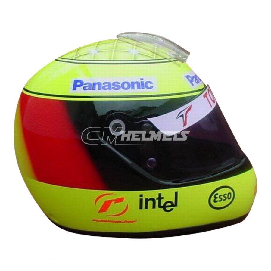 RALF SCHUMACHER 2005 F1 REPLICA HELMET FULL SIZE