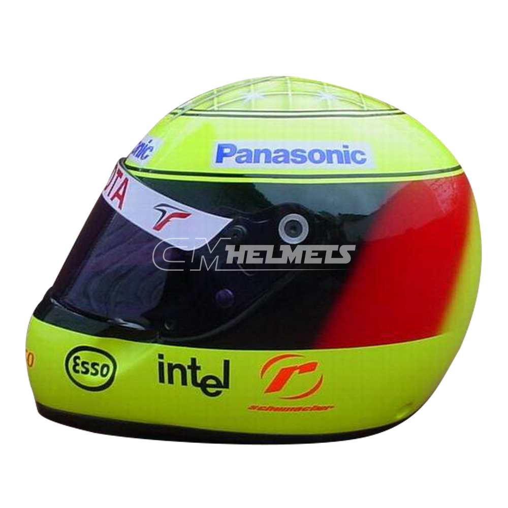 ralf schumacher 2005 f1 replica helmet full size cm helmets. Black Bedroom Furniture Sets. Home Design Ideas