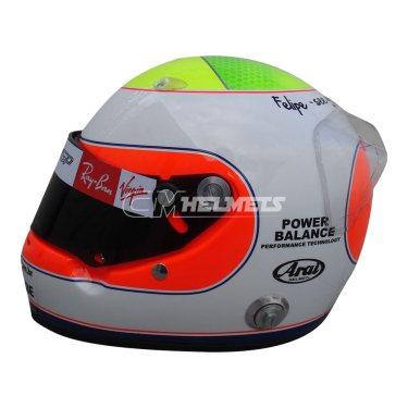 RUBENS BARRICHELLO 2009 VALENCIA GP F1 REPLICA HELMET FULL SIZE
