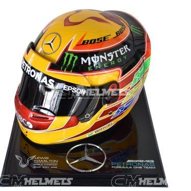 LEWIS HAMILTON 2017 F1 REPLICA HELMET FULL SIZE