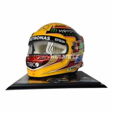 LEWIS HAMILTON 2017 COMMEMORATIVE EDITION  F1 WORLD CHAMPION REPLICA HELMET FULL SIZE