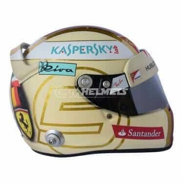 SEBASTIAN VETTEL 2017 MONACO GP F1 REPLICA HELMET FULL SIZE LIMITED EDITION