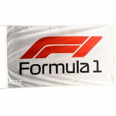 F1 FORMULA ONE FLAG BANNER 3 X 5 FT - 150 X 90 CM