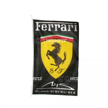 MICHAEL SCHUMACHER FERRARI FLAG BANNER 3 X 5 FT - 150 X 90 CM