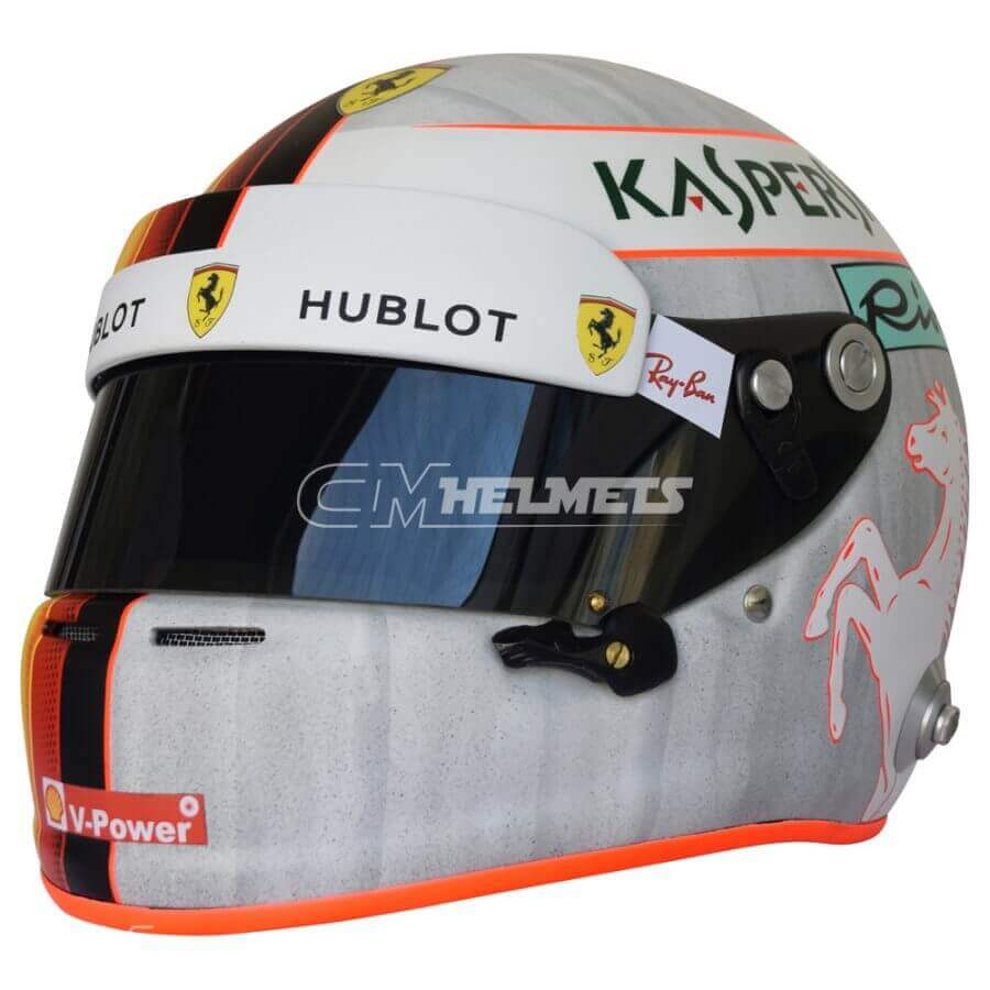 Sebastian-Vettel-2018-Austrian-and-Silverstone- GP-F1-Replica-Helmet-Full-Size-be2