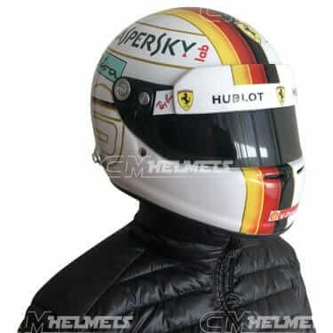 Sebastian-Vettel- 2018-Bahrein-GP- F1-Replica-helmet Full-Size-be-head