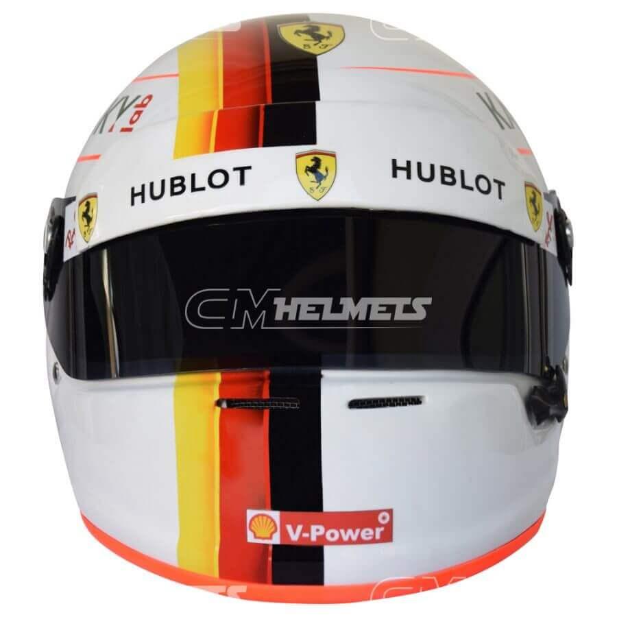 Sebastian-Vettel-2018-Barcelona-Canada- Azerbaijan-GP-F1-Replica-Helmet-Full-Size-be1