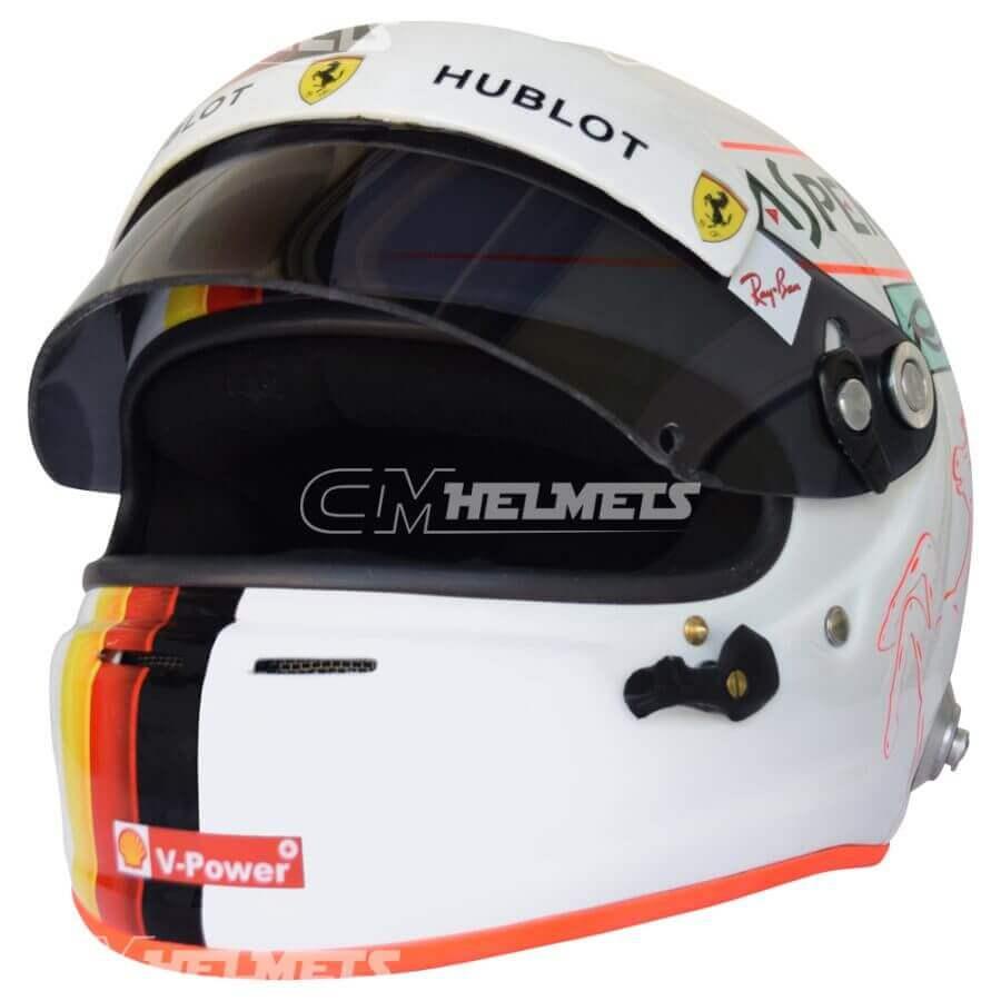 Sebastian-Vettel-2018-Barcelona-Canada- Azerbaijan-GP-F1-Replica-Helmet-Full-Size-be3