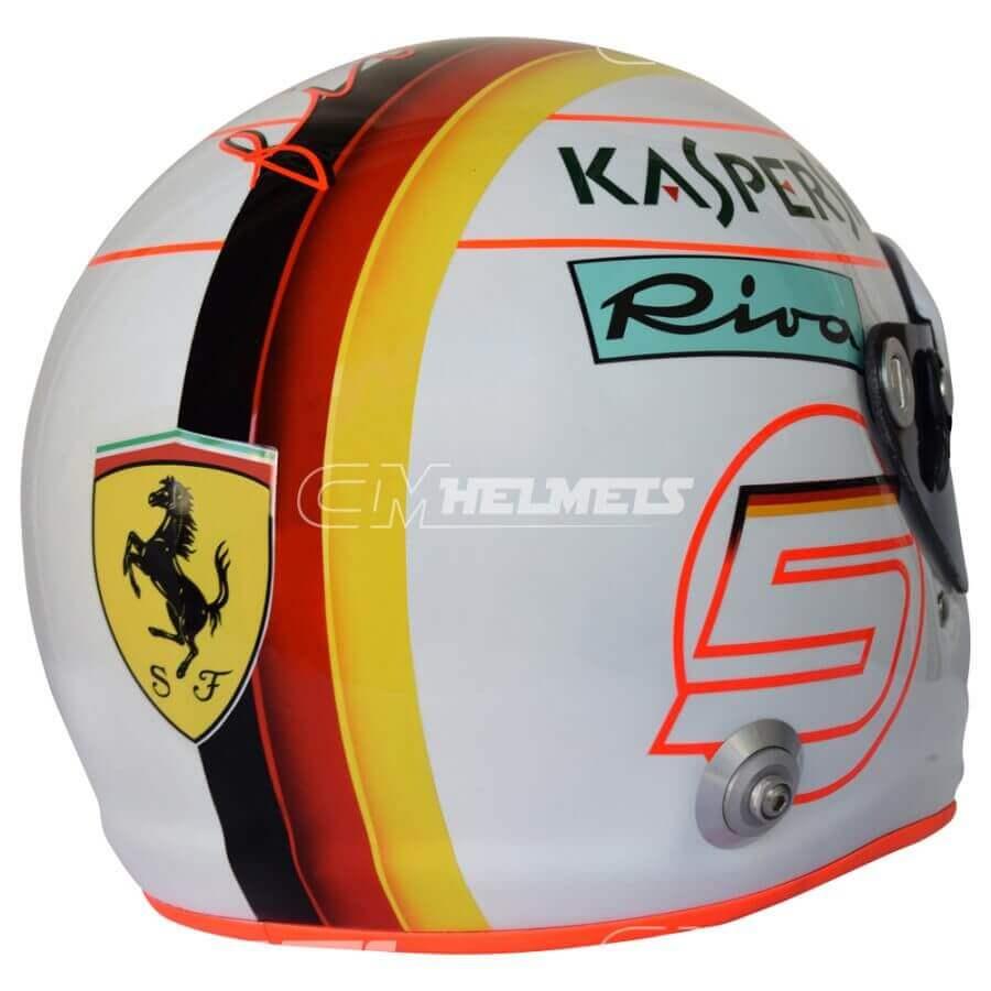 Sebastian-Vettel-2018-Barcelona-Canada- Azerbaijan-GP-F1-Replica-Helmet-Full-Size-be7