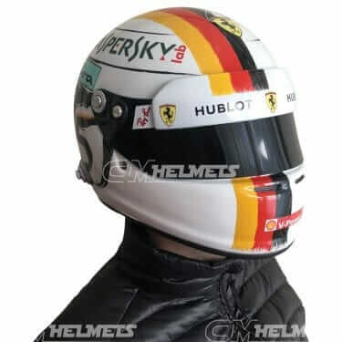 SEBASTIAN VETTEL 2018 CHINA SHANGHAI  GP F1 REPLICA HELMET FULL SIZE