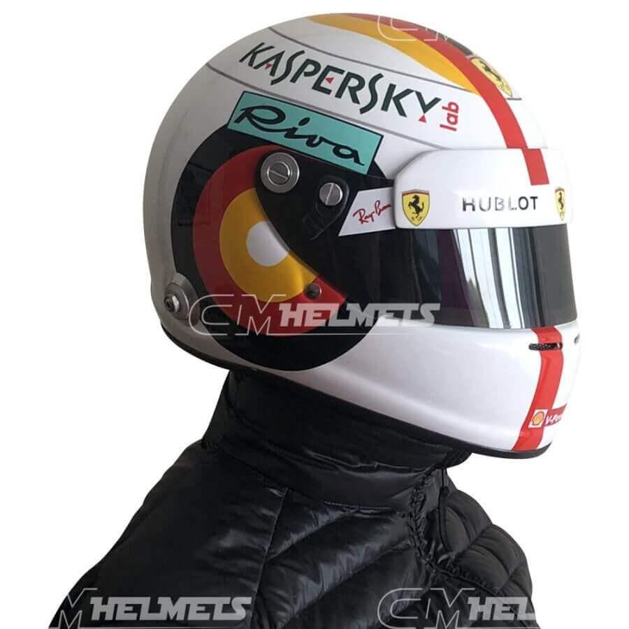 Sebastian-Vettel-2018-Germany-Hockenheim-GP- F1-Replica-Helmet-Full-Size-be-head