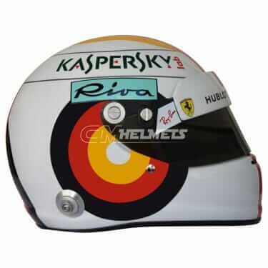 SEBASTIAN VETTEL 2018 GERMANY HOCKENHEIM GP F1 REPLICA HELMET FULL SIZE