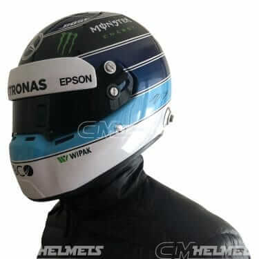 Valteri-Bottas-2018-Monaco-GP- Mika-Hakkinen- Tribute-F1-Replica-Helmet- Full-Size-be-head