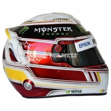 LEWIS HAMILTON 2018 F1 REPLICA HELMET FULL SIZE