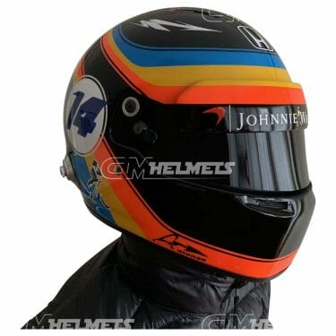 Fernando-Alonso-2017-USA-GP-F1-Replica- Helmet-Full Size