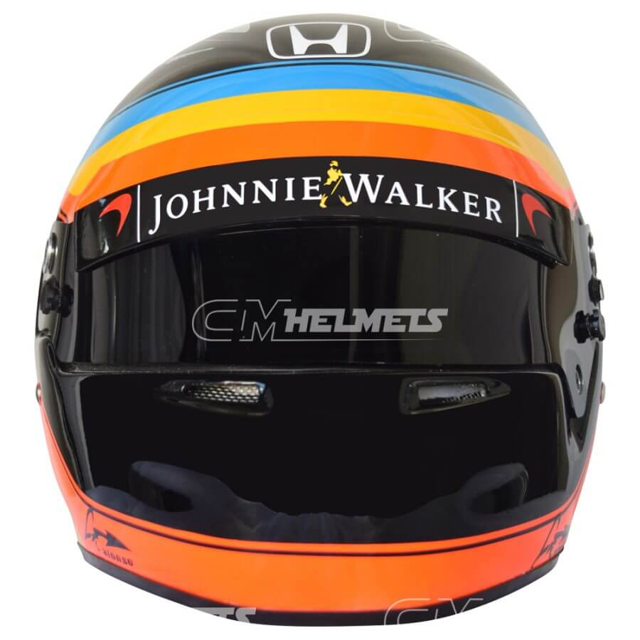 Fernando-Alonso-2017-USA-GP-F1-Replica- Helmet-Full Size-be1
