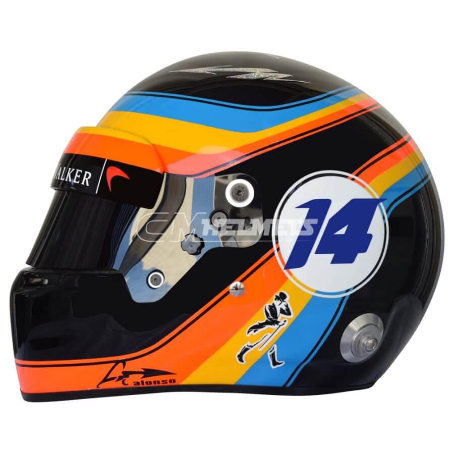 Fernando-Alonso-2017-USA-GP-F1-Replica- Helmet-Full Size-be3