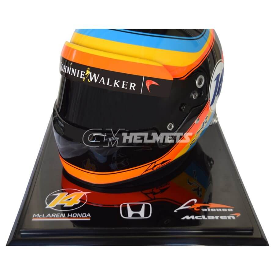 Fernando-Alonso-2017-USA-GP-F1-Replica- Helmet-Full Size-be9