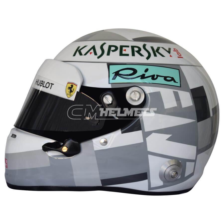 Sebastian-Vettel-2018-Italian-Monza-GP-F1- Replica-Helmet-Full-Size-be1