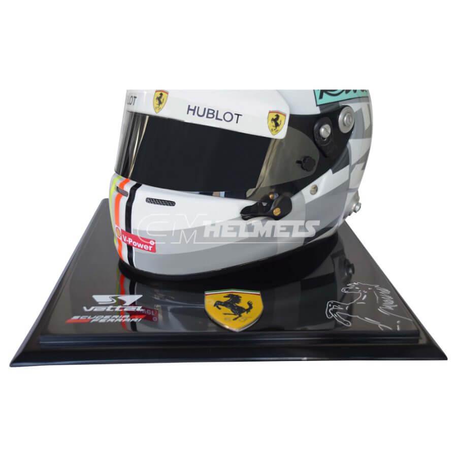 Sebastian-Vettel-2018-Italian-Monza-GP-F1- Replica-Helmet-Full-Size-be11