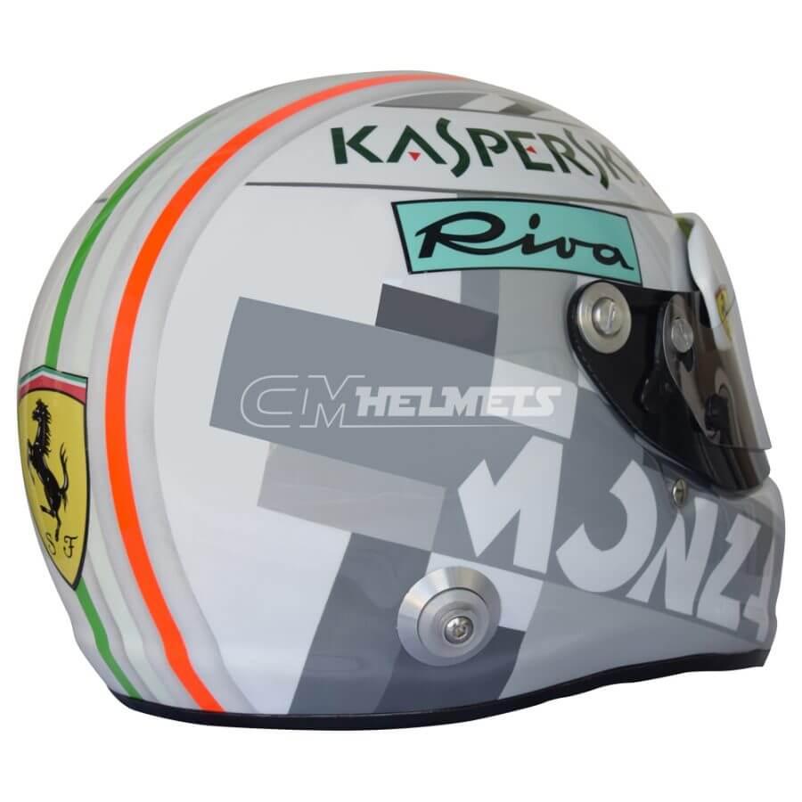 Sebastian-Vettel-2018-Italian-Monza-GP-F1- Replica-Helmet-Full-Size-be7