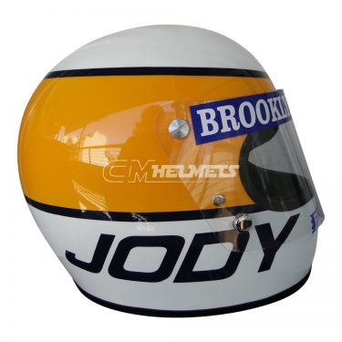 JODY SCHECKTER 1979 WORLD CHAMPION VINTAGE RETRO F1 REPLICA HELMET FULL SIZE