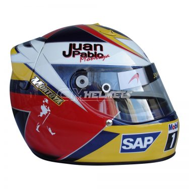 JUAN PABLO MONTOYA 2006 F1 REPLICA HELMET FULL SIZE