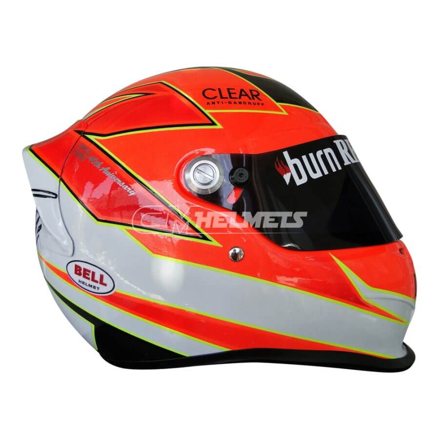 KIMI RAIKKONEN 2013 JAMES HUNT TRIBUTE MONACO GP TRIBUTE F1 REPLICA HELMET FULL SIZE