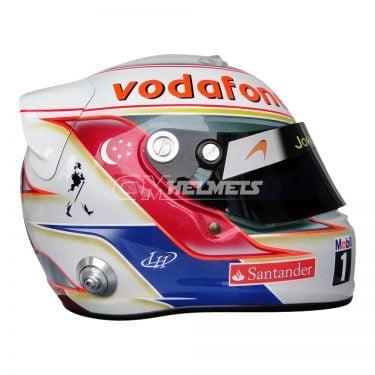 LEWIS HAMILTON 2012 SINGAPORE GP F1 REPLICA HELMET FULL SIZE