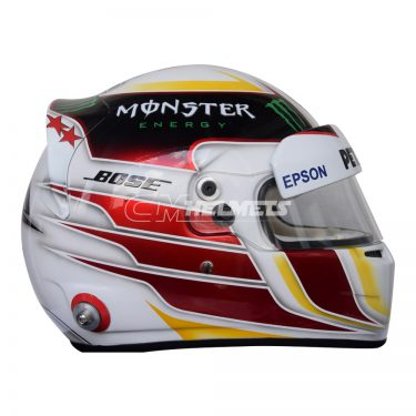 LEWIS HAMILTON 2015 NEW DESIGN F1 REPLICA HELMET FULL SIZE