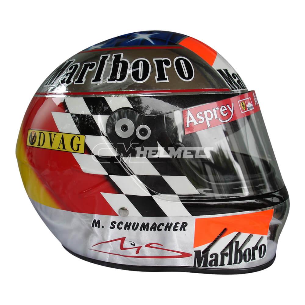 MICHAEL SCHUMACHER 1998 NEW SUZUKA GP F1 REPLICA HELMET FULL SIZE