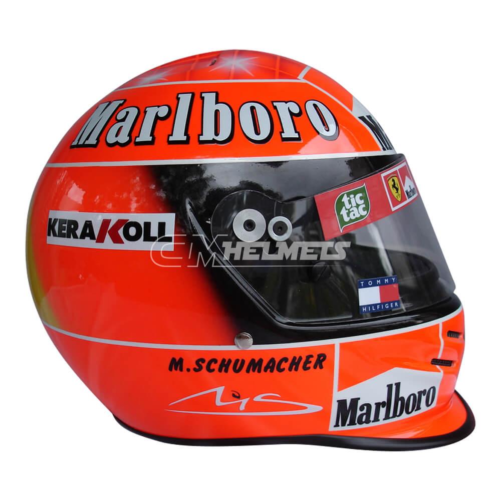 MICHAEL SCHUMACHER 2000 WORLD CHAMPION F1 REPLICA HELMET FULL SIZE