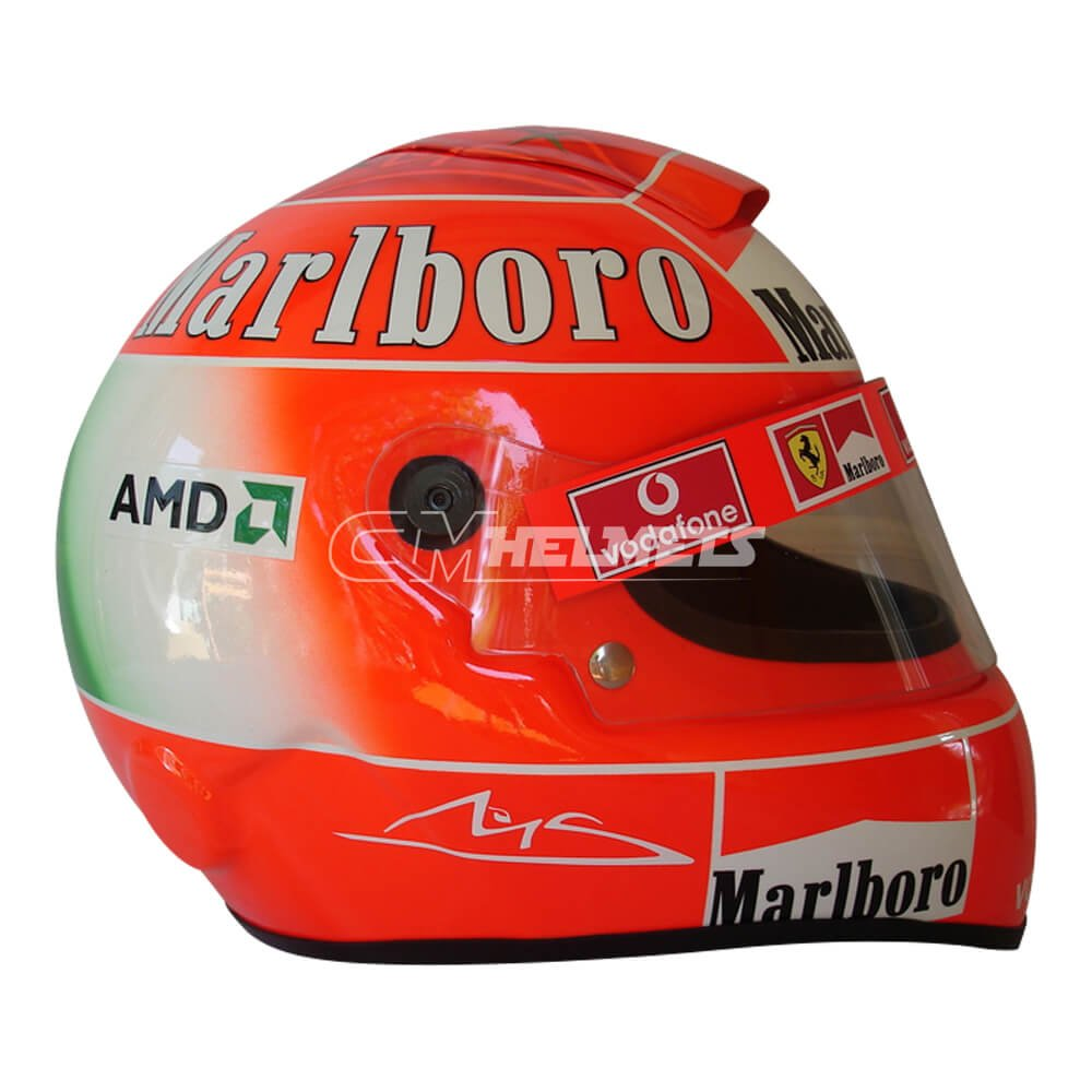 MICHAEL SCHUMACHER 2004 NEW MONZA F1 REPLICA HELMET FULL SIZE