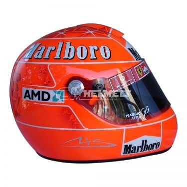 MICHAEL SCHUMACHER 2006 F1 REPLICA HELMET FULL SIZE