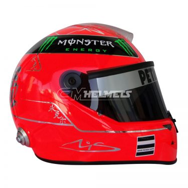 MICHAEL SCHUMACHER 2011 F1 REPLICA HELMET FULL SIZE
