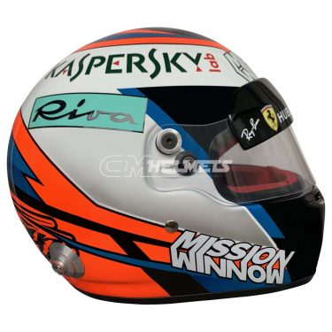 KIMI RAIKKONEN 2018 MISSION MINNION F1 REPLICA HELMET FULL SIZE