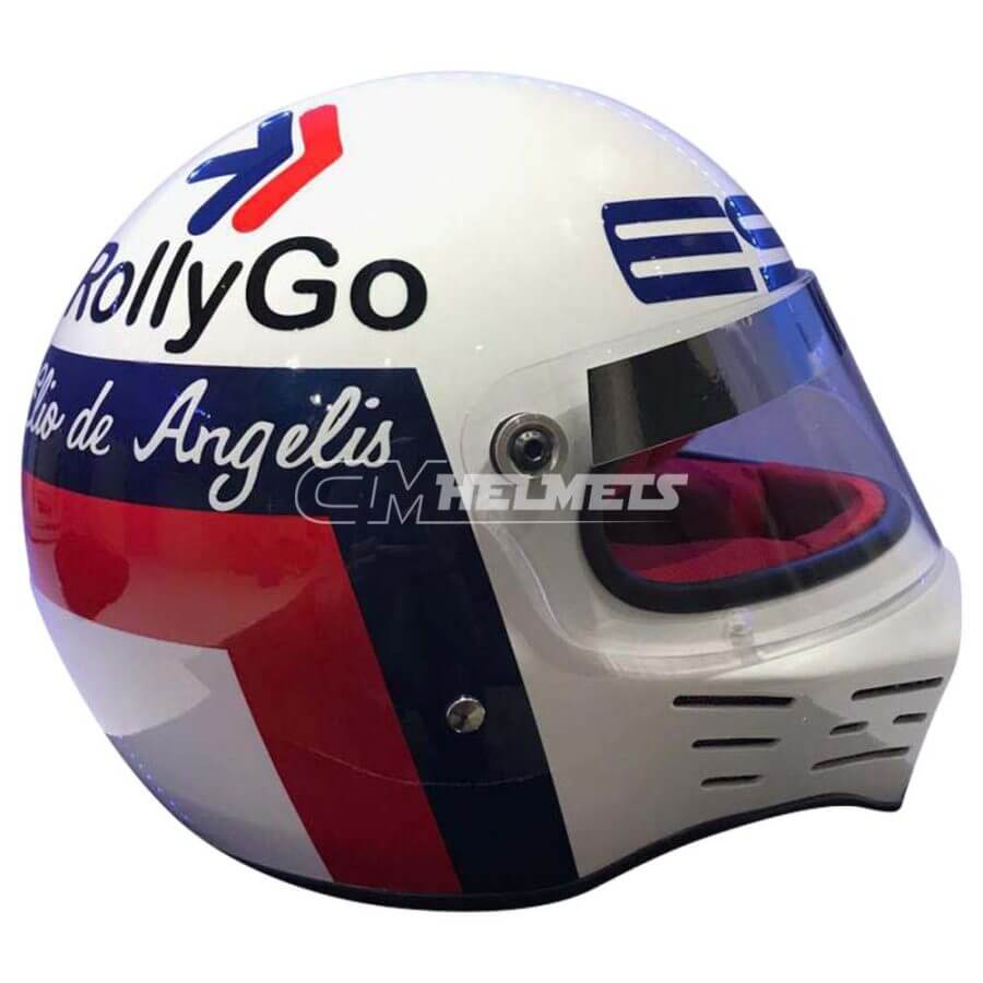 ELIO DE ANGELIS 1977 F1 REPLICA HELMET FULL SIZE
