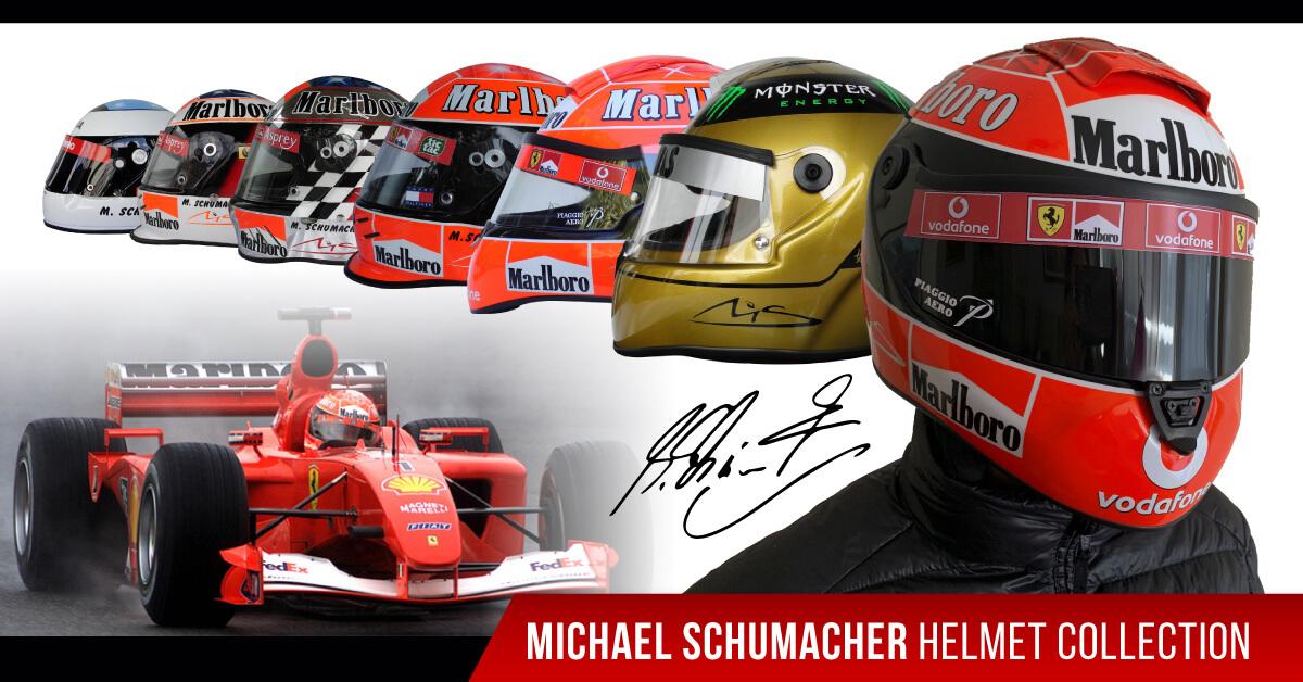 michael schumacher f1 replica helmet
