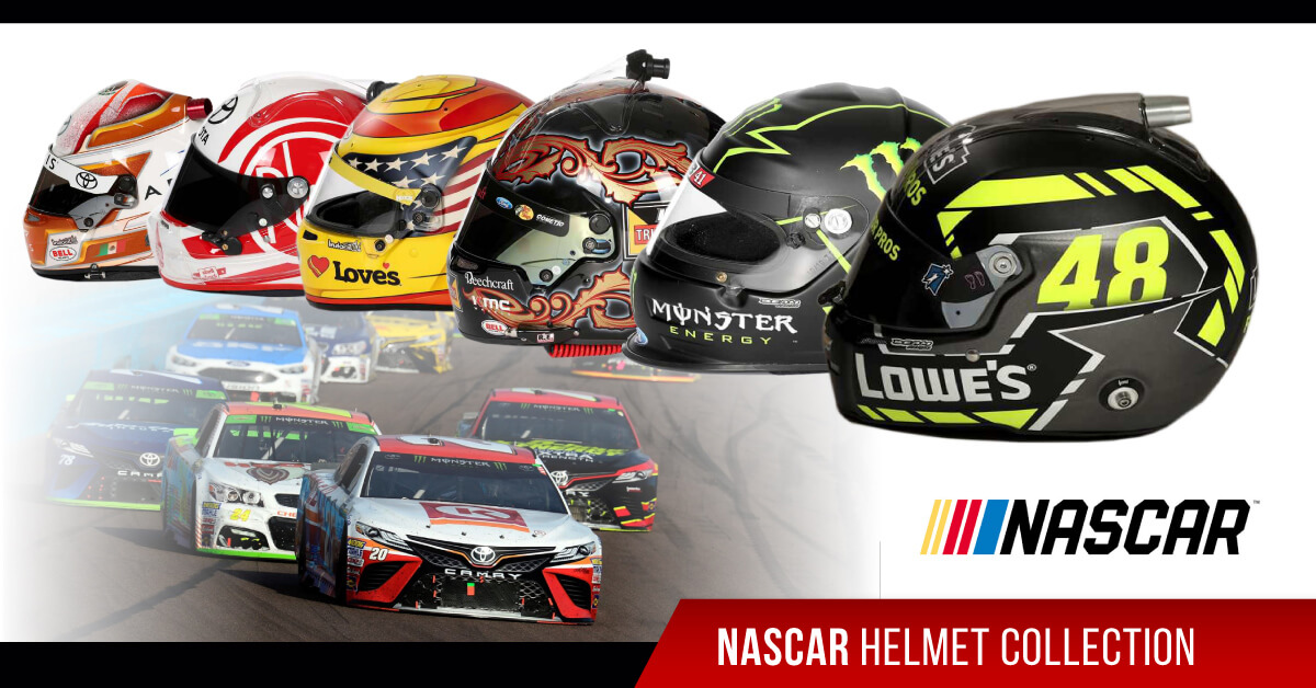 nascar helmet collection