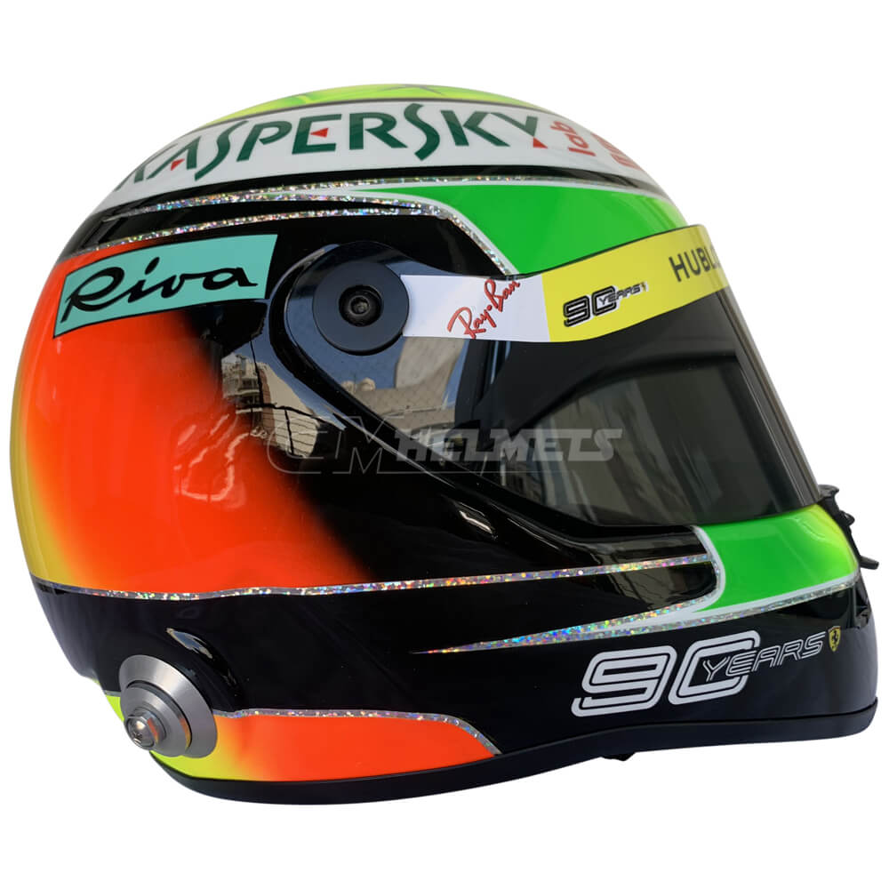 Mick Schumacher 2019 Hockenheim Michael Schumacher Tribute Replica Helmet Full Size Cm Helmets