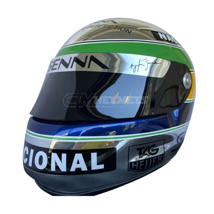 ayrton-senna-chromed-helmet-f1-replica-helmet-full-size-be2