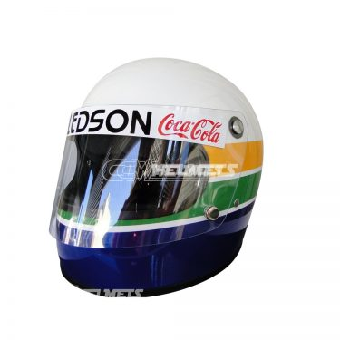 AYRTON SENNA 1977 FIRST HELMET IN KARTING REPLICA