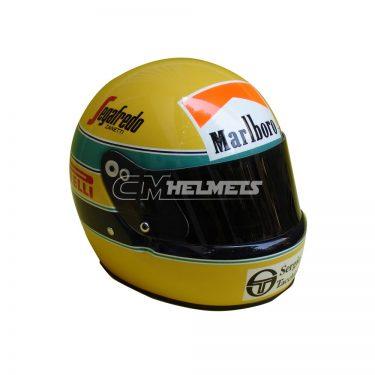 AYRTON SENNA 1984 F1 REPLICA HELMET FULL SIZE