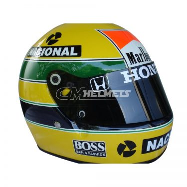 AYRTON SENNA 1988 WORLD CHAMPION F1 REPLICA HELMET FULL SIZE