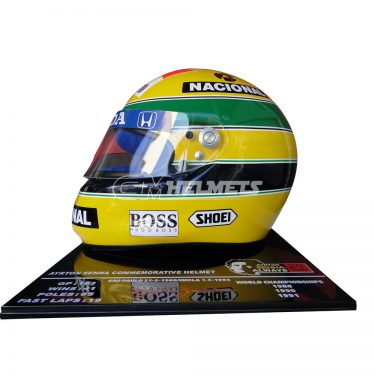 AYRTON-SENNA-1992-20-YEARS-COMMEMORATIVE-F1-REPLICA-HELMET-LIMITED-EDITION-1