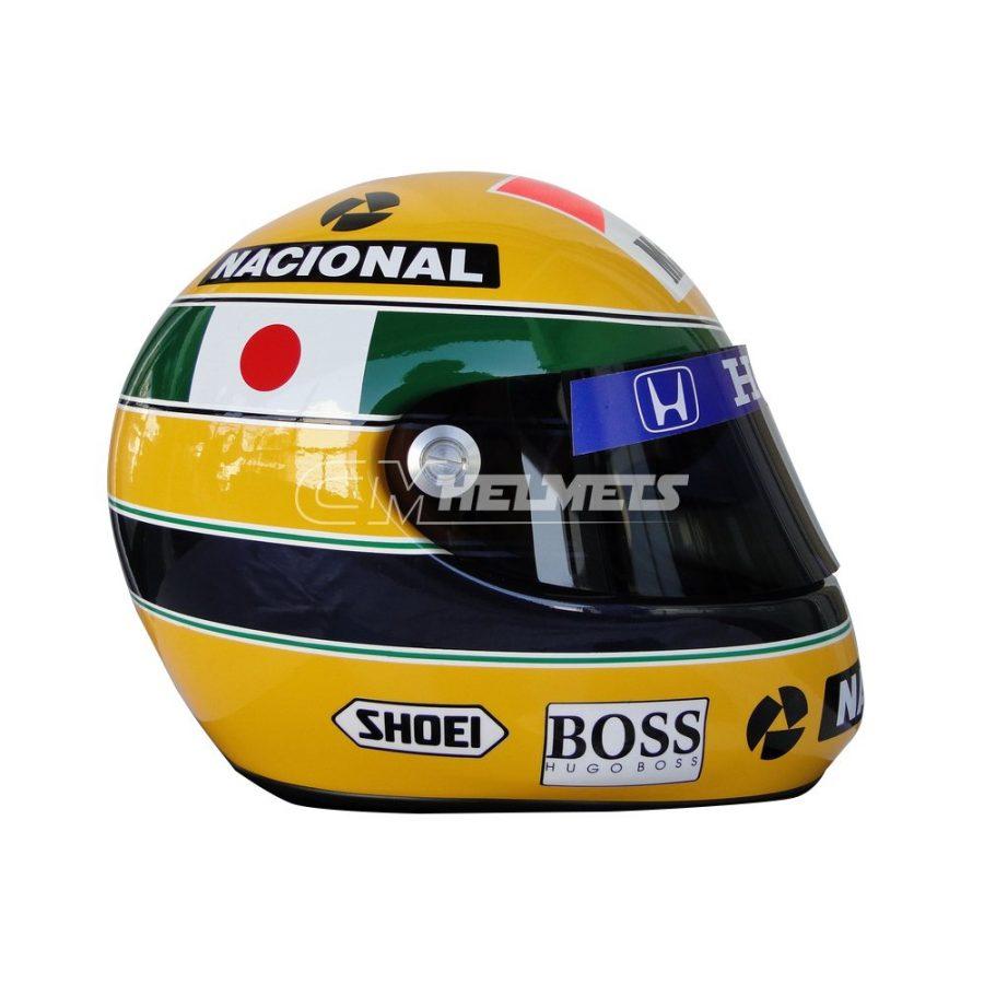AYRTON SENNA 1992 SUZUKA GP F1 REPLICA HELMET FULL SIZE