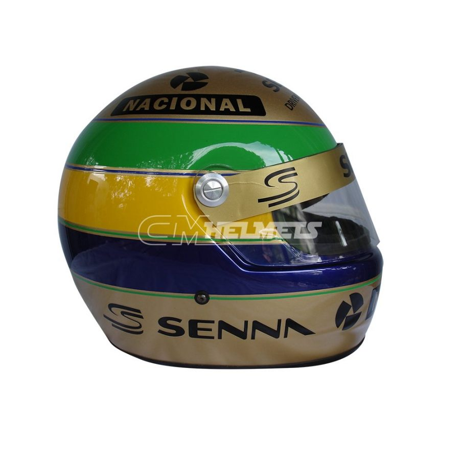 AYRTON SENNA 1994 GOLDEN EDITION COMMEMORATIVE F1 HELMET FULL SIZE