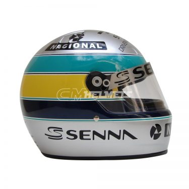 AYRTON SENNA 1994 PLATINUM EDITION COMMEMORATIVE F1 HELMET